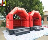 Neuer Entwurfs-roter aufblasbarer springender Prahler für Verkauf