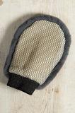 Mitón que se lava de la zalea del 100% de la pila del coche natural de las lanas