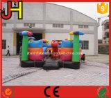 Dinosaurio inflable de la casa de rebote de puente de dinosaurio inflable