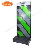Einfacher zusammengebauter Fußboden-stehender Metallausstellung-Bildschirmanzeige-Supermarkt-hängender Werkzeughalter-Standplatz