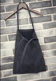 단순한 설계 중대한 수용량을%s 가진 세척된 화포 여성 핸드백 어깨에 매는 가방