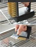 Amazone Hotsale 3 dans 1 balai de nettoyage en laiton en métal de fil pour le nettoyage de gril de BBQ