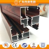 Fabricante chinês Janela Casement isolamento térmico de alumínio