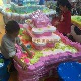 상점가 (S01-PK)를 위한 행복한 아이 오락 섬유유리 오락 장난감 모래 테이블