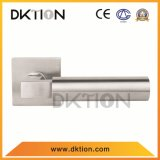 AL084正方形のステンレス鋼の固体ドアのレバーハンドル