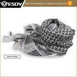 Bufanda árabe del árabe del algodón de Hijabs del desierto táctico a prueba de viento militar de Shemagh