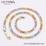 44772 18 K Gold-Plated Xuping de moda para hombres joyas collar en aleación de cobre