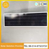 Haut de la rue solaire 70W de puissance tout en un seul voyant intégré