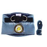Produto de passeio do animal de estimação do chicote de fios do cão de animal de estimação das calças de brim