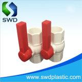 Padrão ANSI octogonal de PVC as válvulas de esfera