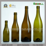750 мл вина стеклянную бутылку с верхней части города Корк в Бордо (NA-014)