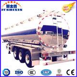 36000L depósito de gasolina de alumínio, reboque do depósito de gasolina, reboque de alumínio do curso