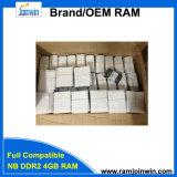노트북을%s 가득 차있는 호환성 DDR2 4GB 667MHz 렘