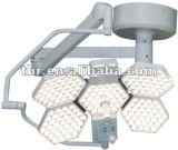 5軽いヘッドShadowless操作ランプ(色温度を調節しなさい)