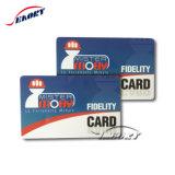 Limpar o cartão de visita em PVC transparente Cartões de Nome