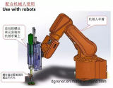 فجّرت نوع آليّة [لوك سكرو] آلة يستطيع كنت ركّبت في الإنسان الآليّ سلاح