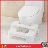 Do plástico quente de 2017 tamborete ajustável do toalete do banheiro vendas