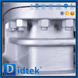 Маховичок Didtek служил фланцем запорная заслонка нержавеющей стали Ck20 концов
