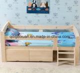 Festes Holz-Kind-Bett mit hölzernem Bett der Leitschiene-Jungen-und Mädchen-Prinzessin-Bed Pine Crib Real zusammen (M-X3313)