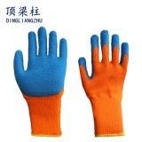 [7غ] برتقاليّ أكريليكيّ أنبوب كسا قفّاز مع لثأ زرقاء