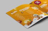 Catálogo modificado para requisitos particulares de la impresión en offset del atascamiento perfecto del diseño de la cubierta