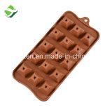 Vente de chocolat chaud pyramide de moule de cuisson en silicone
