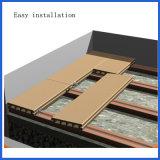 Mattonelle composite solide di collegamento facilmente installate di Decking di WPC per la pavimentazione della costruzione