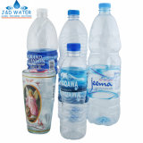 Automatisch krimp de Machine van de Etikettering van de Koker voor de Flessen van het Water van de Drank van de Drank
