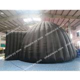 6m/7m de diamètre tente dôme gonflable, astronomique tente gonflable, tente de projection astronomique à bon marché