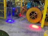 Сигнальная лампа крана опоры под действием электропривода