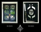 機密保護の鉄のドアかエントリ鉄Doors/Usの標準鉄のドア