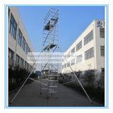 Coffre-fort Ce tour d'échafaudage en aluminium qualifié pour la maintenance
