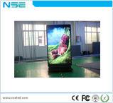 지면 서 있는 직업적인 실내 광고 발광 다이오드 표시 리모트