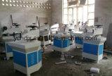 De hydraulische Scherpe Machine van de Matrijs van de Pantoffel van het Leer van het Wapen van de Schommeling