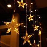 IP44 Estrellas románticas Cortina de luz LED para la boda/Cumpleaños/Decoración
