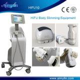 La reducción de grasa de la máquina Lipohifu Hifu
