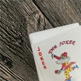 Póquer feito sob encomenda dos cartões de jogo com superfície envernizada lustrosa