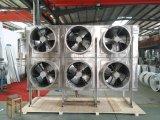 Nuovo disegno! ! ! Pavimentare l'evaporatore diritto dell'acciaio inossidabile di 4~6 ventilatori per cella frigorifera/memoria