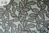 잎 패턴 셔닐 실 Decotative 직물과 직물