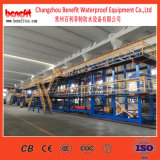 Битумная делая водостотьким машина материалов, завод мембраны Sbs водоустойчивый, производственная линия строительного материала