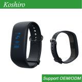 Сигнал тревоги Sos шагов калории отслежывателя деятельности напоминает франтовской браслет Bluetooth