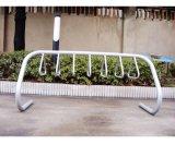 Triângulo exterior galvanizados a quente força de rack de estacionamento de bicicletas