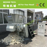 Singola macchina della trinciatrice dell'asta cilindrica del grumo di plastica residuo