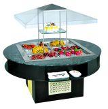 Refrigerador de trabalho da tabela de /Pizza do refrigerador da salada da pizza