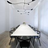 Twによってカスタマイズされる会議の席の現代オフィスの会合表