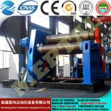 La Chine quatre rouleau plieuse et plaque en acier de la plaque de rouler la machine