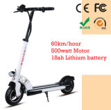 2 Wheels Mini Folding camera Motorized Electric Scooter 2000W 1000watt