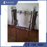 China-Hersteller-Edelstahl-Duplex-Schmierölfilter-Duplex-Beutelfilter