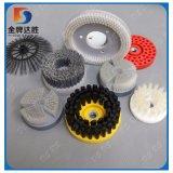 Abschleifende kreisförmige runde Platten-Nylonpinsel