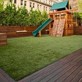 20-35mm anti-UV grado piso decoración del paisaje de Césped Artificial Césped Sintético para jardín y hogar